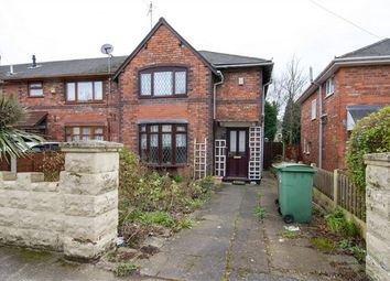 Thumbnail 3 bed end terrace house for sale in May Street, Bloxwich, Walsall, West Midlands