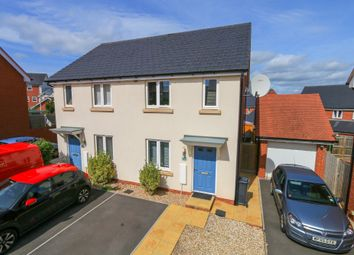 Thumbnail 3 bed semi-detached house for sale in Farm Park, Cranbrook, Exeter