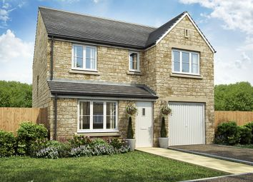 "Thumbnail 4 bed detached house for sale in ""Longthorpe "" at Main Road, Galgate, Lancaster"