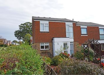 Thumbnail 3 bed semi-detached house for sale in Downland Drive, Crawley