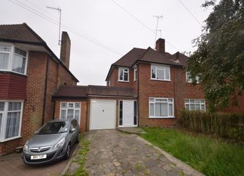Thumbnail 3 bedroom semi-detached house to rent in Lawrence Gardens, Mill Hill, London