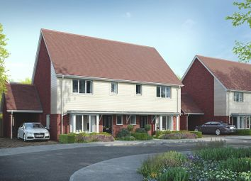 Thumbnail 3 bed semi-detached house for sale in Manley Boulevard, Holborough Lakes, Snodland