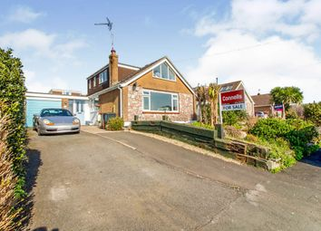 Thumbnail 4 bed detached bungalow for sale in Longlands Drive, Heybrook Bay, Plymouth
