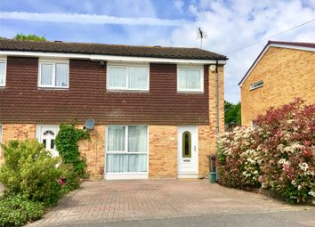 Thumbnail 3 bedroom end terrace house to rent in The Greenway, Hurst Green, Surrey