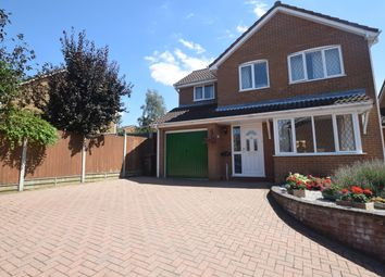 Thumbnail 4 bed detached house for sale in Schoorl Close, Hadleigh, Ipswich