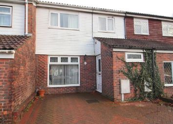 Thumbnail 3 bed terraced house for sale in Britten Close, Crawley, West Sussex.
