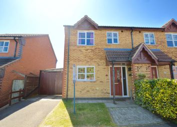 Thumbnail 3 bed semi-detached house for sale in Avocet Close, Essendine, Stamford