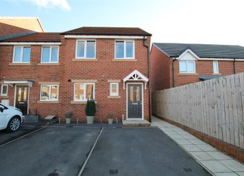 Thumbnail 3 bed end terrace house for sale in Bradford Drive, Bishop Auckland