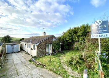 Thumbnail 3 bed detached bungalow for sale in Treza Road, Porthleven, Helston