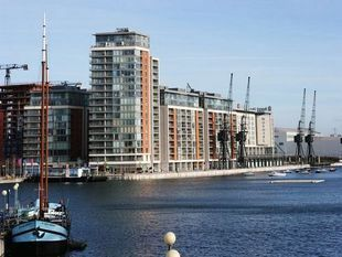 Thumbnail 1 bedroom flat to rent in Marmara Apartments, Western Gateway, London