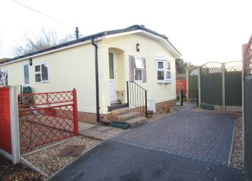 Thumbnail 2 bed detached bungalow for sale in Roi-Mar Home Park, Throop Road, Bournemouth