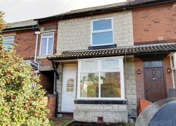 Thumbnail 2 bed terraced house to rent in Sheffield Road, Chesterfield, Derbyshire
