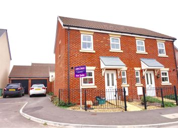 Thumbnail 2 bed semi-detached house for sale in St. Mawgan Street Kingsway, Quedgeley, Gloucester