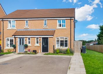 Thumbnail 3 bed semi-detached house for sale in Tait Way, Wellesbourne, Warwick