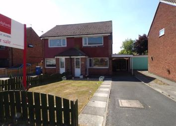 Thumbnail 2 bed semi-detached house for sale in Countess Way, Euxton, Chorley, Lancashire