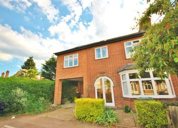 Thumbnail 5 bed semi-detached house for sale in Stanley Road, West Bridgford