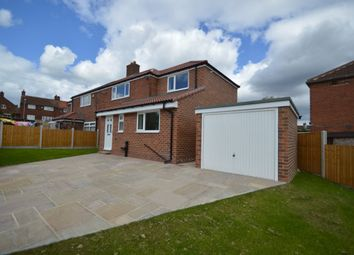 Thumbnail 4 bed semi-detached house for sale in Hill Crest, Swillington, Leeds