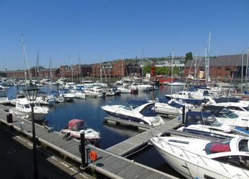 Thumbnail 2 bed flat for sale in Ferrara Quay, Marina, Swansea