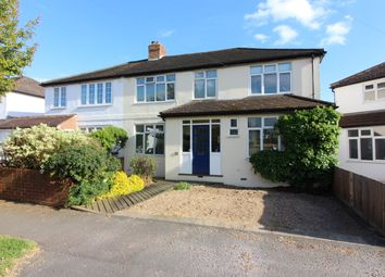 Thumbnail 4 bed semi-detached house for sale in Balmoral Crescent, West Molesey
