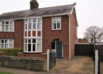 3 bed semi-detached house for sale in Lime Walk, Long Sutton, Spalding PE12