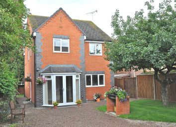 Thumbnail 4 bed detached house for sale in Bretforton Road, Honeybourne, Evesham