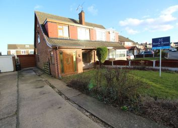 Thumbnail 3 bed semi-detached house for sale in Park Avenue, North Anston, Sheffield