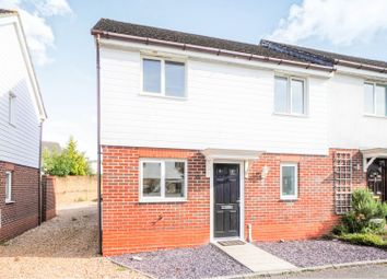 Thumbnail 2 bed semi-detached house for sale in Lavender Court, Whitely, Fareham