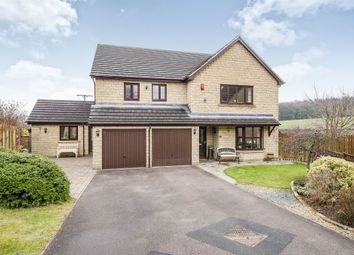 Thumbnail 4 bed detached house for sale in Beckside, Flockton, Wakefield