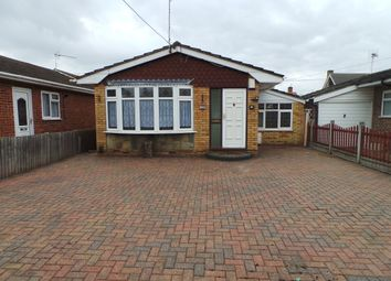 Thumbnail 2 bed detached bungalow to rent in Hernen Road, Canvey Island