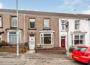 Thumbnail 3 bed terraced house for sale in Kemble Street, Brynmill, Swansea