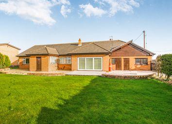Thumbnail Detached bungalow for sale in Rossett Road, Rossett, Wrexham