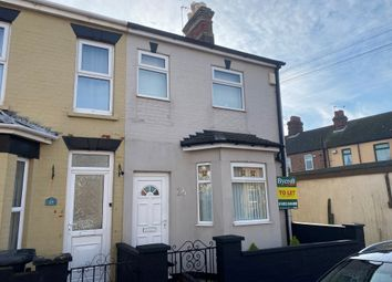 Thumbnail 2 bed end terrace house to rent in Avenue Road, Gorleston, Great Yarmouth