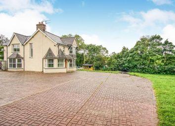 Thumbnail 4 bed detached house for sale in Caerhun, Bangor, Gwynedd
