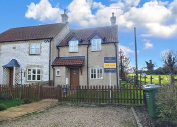 Thumbnail 2 bed semi-detached house for sale in West End, Northwold, Thetford