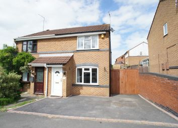 Thumbnail 3 bed semi-detached house to rent in Fairfield Road, Horsley Woodhouse, Ilkeston
