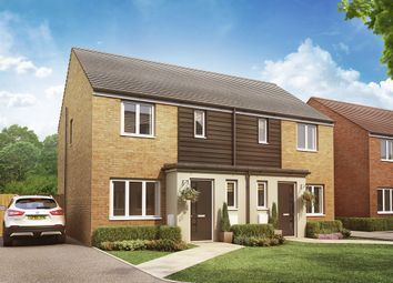 "Thumbnail 3 bed semi-detached house for sale in ""The Hanbury"" at Christie Drive, Hinchingbrooke Park Road, Huntingdon"