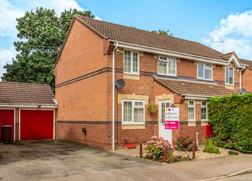 Thumbnail 3 bedroom semi-detached house for sale in Morgans Way, Hevingham, Norwich