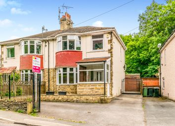 Thumbnail 3 bed semi-detached house for sale in The Rise, Northowram, Halifax