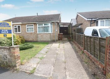 Thumbnail 2 bed semi-detached bungalow for sale in Warren Close, Irchester