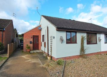 Thumbnail 2 bedroom semi-detached bungalow for sale in Field View Gardens, Beccles