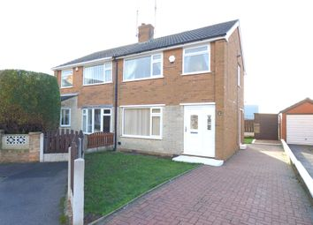 Thumbnail 3 bed semi-detached house to rent in Bramlyn Close, Clowne, Chesterfield