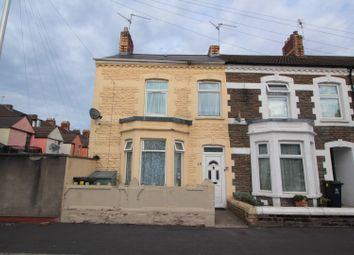 Thumbnail 3 bed end terrace house for sale in Coveny Street, Splott