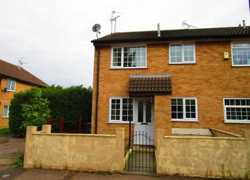 Thumbnail 1 bedroom end terrace house for sale in Willoughby Court, Peterborough