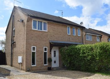 Thumbnail 2 bed semi-detached house for sale in Squires Gate, Gunthorpe, Peterborough