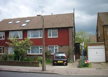 Thumbnail 2 bedroom maisonette to rent in Alma Road, Ponders End, Enfield