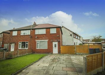 Thumbnail 3 bed semi-detached house for sale in Burns Road, Walkden, Manchester