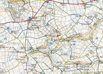 Thumbnail Land for sale in 5.5 Acres Land Formerly Part Of, Waun, Rhydlewis
