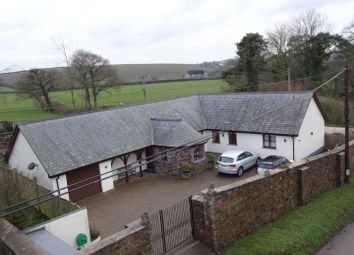Thumbnail 4 bed detached bungalow for sale in Frithelstock, Torrington