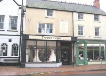 Thumbnail Retail premises to let in Unit 1, 31-33 Market Street, Abergele