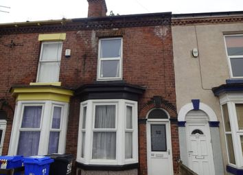 Thumbnail 4 bed terraced house to rent in Charlotte Road, Highfields, Sheffield